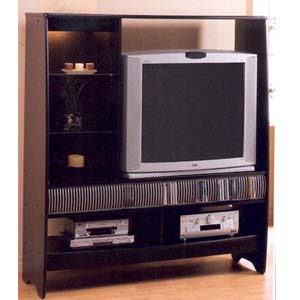 Black Finish Entertainment Center 6008 (CO)
