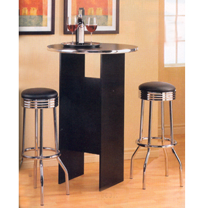 3-Pc Bar Set With Chrome Trim 6017/2408 (CO)
