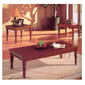 3 Pc Coffee/End Table Set 6158 (A)