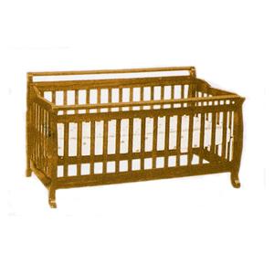 3 IN 1 Convertable Crib 617(DM)