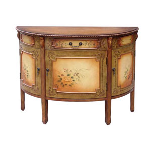 Hand Painted Console Table 6175 (WD)
