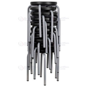 Stackable Stool with Black Seat 1103-1361-01-00(AZFS)