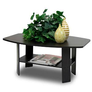 Simple Design Coffee Table, Espresso 10025(AFS)