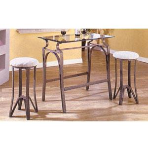 Bronze Hammertone  Bar Set 6205-88 (WD)