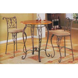 Wrongh Iron Bar Table 6285 (A)