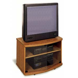 Oak Finish T.V. Stand 6330 (CO)