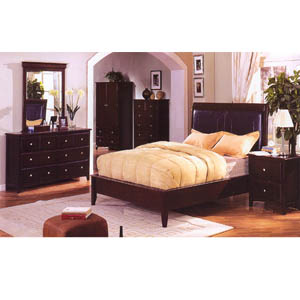 Cappuccino Finish Bedroom Set CM7005_ (IEM)