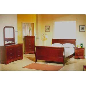 CherryQueen Bed 7076Q (IEM)