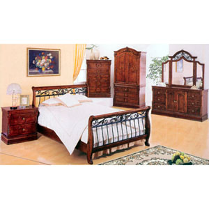 5-Piece Queen Size Bedroom Set 7125Q (IEM)