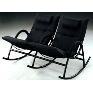 Couple Video Rocker In Black 7562 (CO)