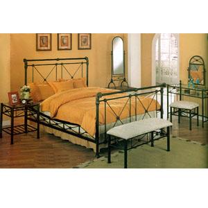 4-Piece Queen Size Bedroom Set 7691 (CO)