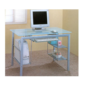 Glass Computer Desk 800111 (CO)