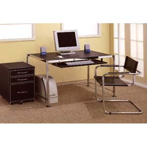 Contemporary Computer Desk 800121 (CO)