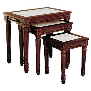 3-Pc Nesting Table Set 8038WN_(ITM)