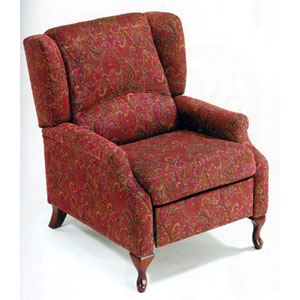 Victorian Fabric Recliner 8123 (A)