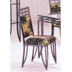 Chair With Leopard 8218 (A)