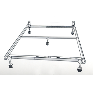 Twin/Full/Queen Bed Frame With Center Support 840CA5 (RB)