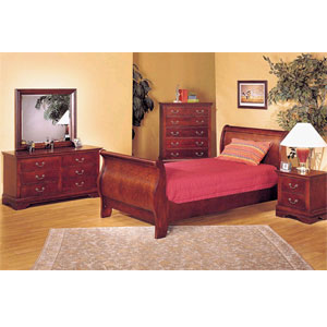 Louis Phillipe Bedroom Set 8568 (A)