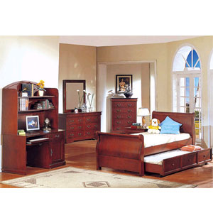 Louise Phillipe Bedroom Set With Trundle 8594 (A)