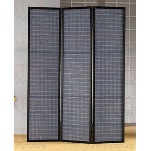 3 Panel Black Finish Screen 900116(CO)