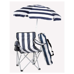 Kiddie Camping Chair With Umbrella 91073 (LB)