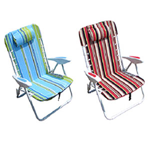 Folding Beach Chair With Arms 91147 (LB)