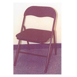 Black Fabric Folding Chair 99845 (LB)