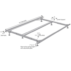 metal bed frame ada 3456wh