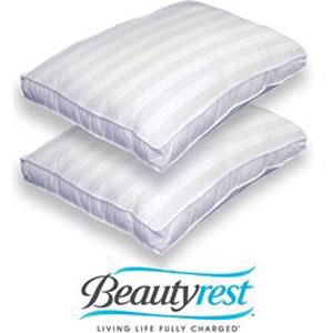 500 TC Mosaic Medium Firmness Bed Pillows (Set of 2)