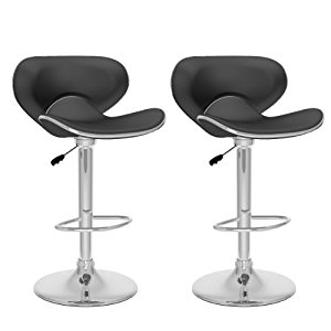 Form Fitting Adjustable Barstools (Set of 2) (OFS)