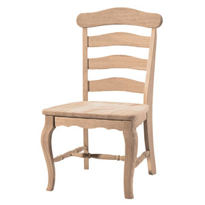 Unfinished Country French Chair C-219P (IC)