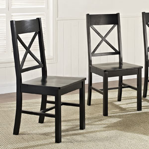 Solid Wood Set of 2 Dining Chairs CH108(OFS)