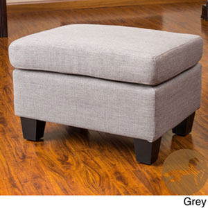 Christopher Knight Home Rosella Fabric Ottoman 239320(OFS)