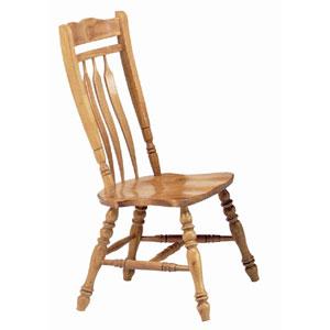 Solid Wood Aspen Comfort Back Side Chair DLU-C10