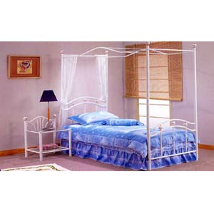 Twin Size Canopy Bed F9025 (PX)
