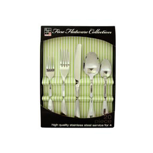 FLATWARE SET MIRROR POLISH FS00351(HDS)