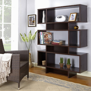 Wood Cube Bookcase Display Cabinet HO2912(KBFS)