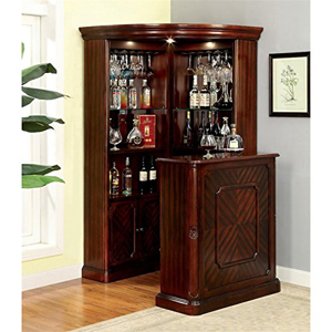 3pc Yorkshire Corner Wine Cabinet With Stand 40100(ML)