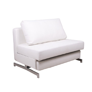 Modern Leather Textile Sofa Queen Sleeper K43-2(JMFS)