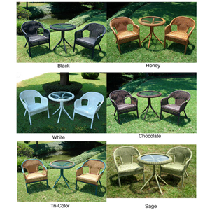 Outdoor Resin/ Steel Bistro Set 1152617(OFS302)