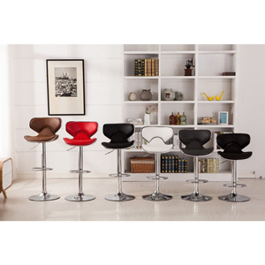 Airlift Adjustable Swivel Barstool (Set of 2) PC138(OFS)