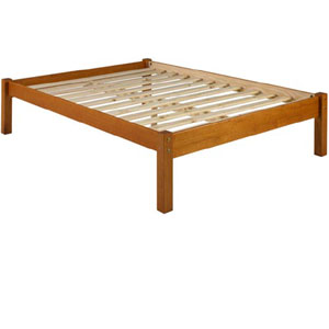 solid wood montana platform bed pifs40 - Solid Wood Platform Bed