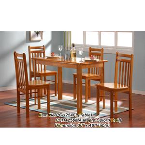 Solid Wood Dinette Set PCH254FL/PCH1255MA(ES)