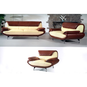 Leather Sofa Set 210-C/B(GL)
