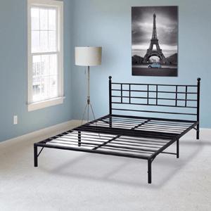 Model L Easy Set-up Steel Platform Bed Frame