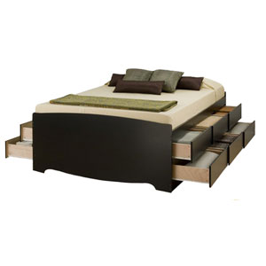 Custom Made Captain Bed with Drawers STB-2_(VF)