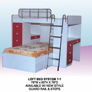 Loft Bed System T-1(CT)