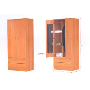 Wardrobe With Mirror WD266(ALAFS150)