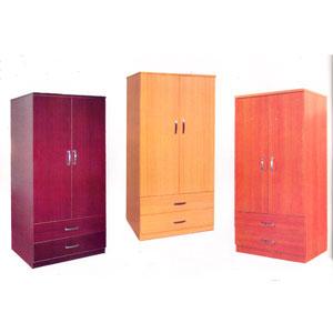 2 Door & 2 Drawer Wardrobe WD117 (ES)