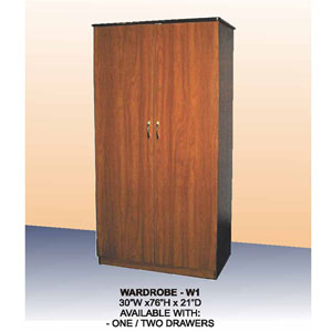 2-Door Wardrobe W-1(CT)